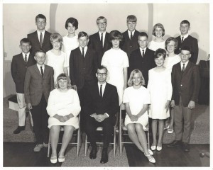 1966 Confirmation Class