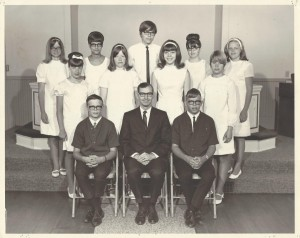 1968 Confirmation Class