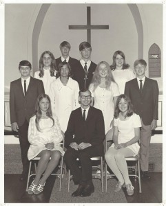 1970 Confirmation Class