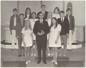 1971 Confirmation Class