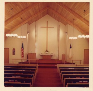 1974 Church Sanctuary