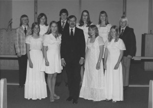 1975 Confirmation Class