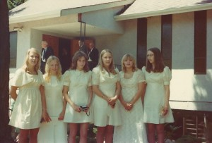 1975 Confirmation Class II