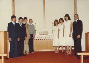 1979 Confirmation Class