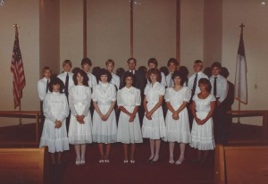 1983 Confirmation Class