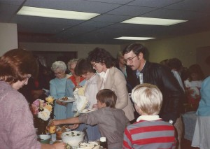 1985 Meal Buffet Line 1