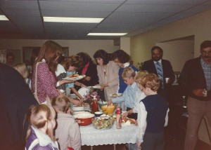 1985 Meal Buffet Line 2