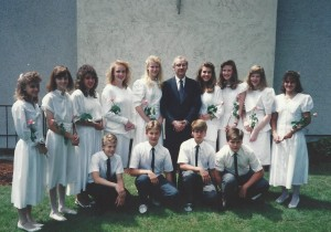 1989 Confirmation Class