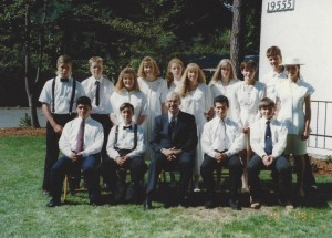 1991 Confirmation Class