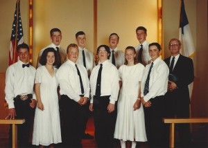 1995 Confirmation Class