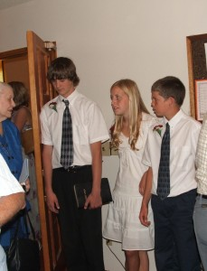2006 Confirmation Class II