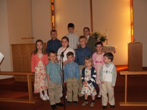 2007 Easter Students