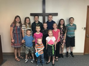 2017 Sunday School I