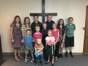 2017 Sunday School I